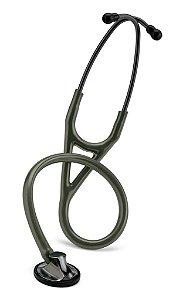 "Estetoscópio 3M Littmann Master Cardiology  27"", Dark Olive Green Tube, 2182"