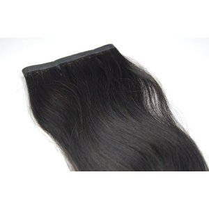 Mega Hair Fita Adesiva Micro Hair Connection Castanho  60cm com 2 Telas