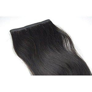 Mega Hair Fita Adesiva Micro Hair Conection Castanho  70cm com 2 Telas