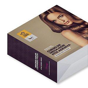 Curso de Confecção Mega Hair Fita Adesiva G8 mais DVD com Kit Produtos