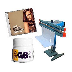 Maquina Fabricação Mega Hair Nanopele MicropeleFita Adesiva G8