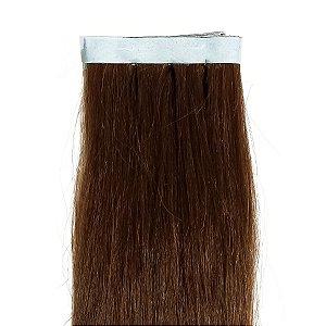 Mega Hair Fita Adesiva Selecionado  Marrom  70cm com 1 Tela