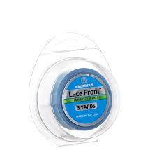 Fita Adesiva Para Mega Hair Dupla Face Azul Lace Front 3 Yards 8mm
