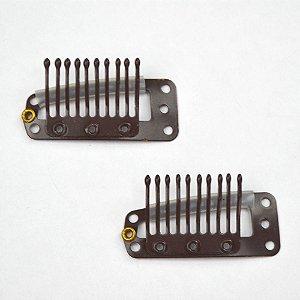 Prisilha Tic Tac Marron Kit com 20 unidades
