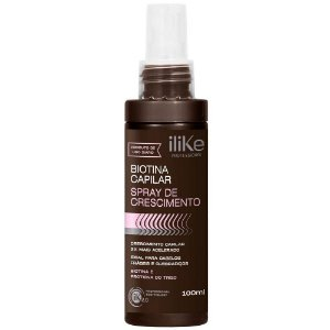 Ilike Biotina Capilar Spray De Crescimento 100ml