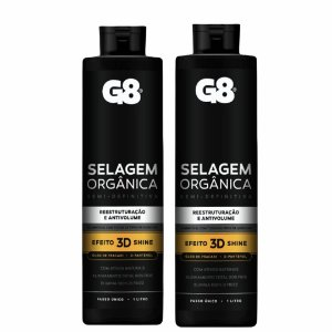 Progressiva Selagem Semi Definitiva G8 - 2 X 1000ml