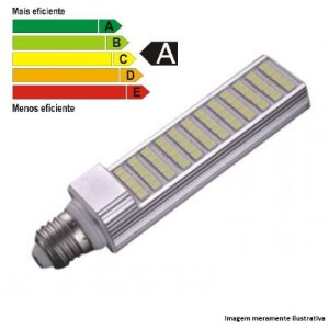 Lâmpada LED PL 10W 85/265V BRANCO FRIO
