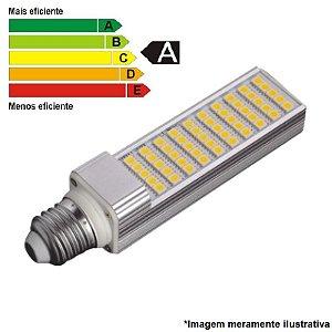 Lâmpada LED PL 7W 85/265V BRANCO QUENTE