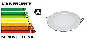 Luminária de Embutir Redonda LED 6W 110/270V
