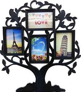 Quadro Árvore para 4 fotos 10x15 cm