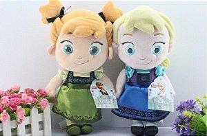 Bonecas Elsa Baby ou Anna Baby, em Pelúcia - Pronta entrega!
