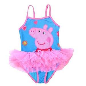 Maiô Peppa Pig, com Tutu - pronta entrega!