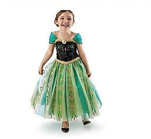 Vestido Anna Luxo Verde, de Baile - Pronta entrega!