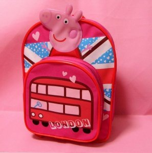 Mochila Peppa Pig London - Pronta Entrega!