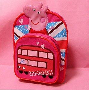 Mochila Peppa Pig London - Pronta Entrega!
