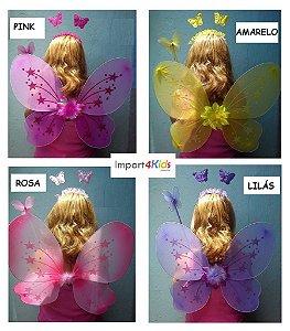Fantasia Butterfly Arco-íris - Pronta Entrega!