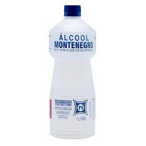 ALCOOL MONTENEGRO LIQ. HIDRATADO 92,8 INPM 01 LITRO