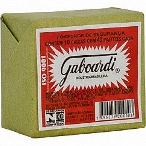 FOSFORO GABOARDI COM 10 X 40 UNIDADES