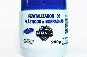 REVITALIZADOR DE PLASTICO E BORRACHA GITANES 200 GRAMAS