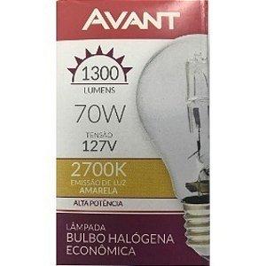 AVANT LAMPADA BULBO HALOGENO 70W 127V