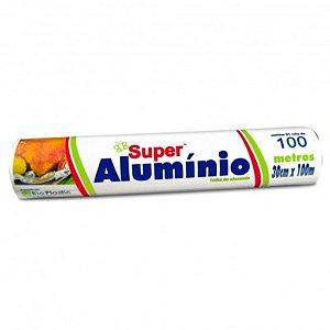 PAPEL ALUMINIO BIOPLASTIC 30 CM X 100 METROS