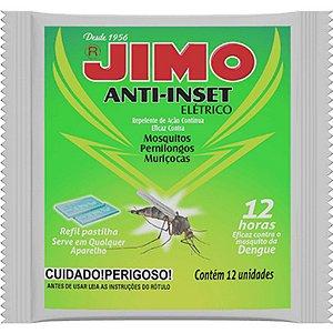 JIMO ANTI-INSET REFIL PASTILHA COM 12 UNIDADES