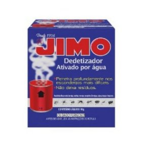 JIMO DEDETIZADOR FUMIGANTE GAS ATIVADO POR AGUA 10 GRAMAS