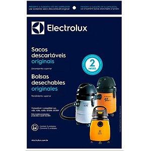 SACO DESCARTAVEL ASPIRADOR ELECTROLUX A20 CSE20 COM 3 UNIDADES