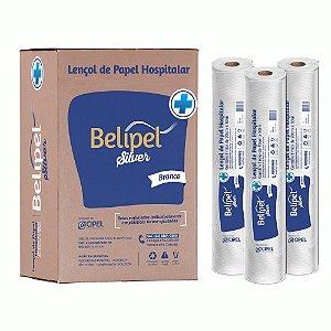 LENCOL HOSPITALAR BELIPEL SILVER BRANCA II SEM PICOTE - 70 CM X 50 METROS