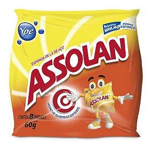 LA DE ACO ASSOLAN C/08 UNIDADES 60 GRAMAS
