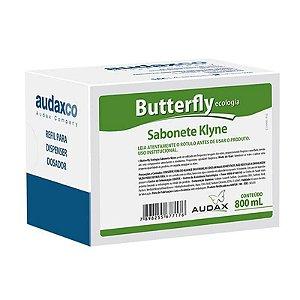 AUDAX BUTTERFLY SABONETE KLYNE AZUL 800 ML