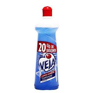 LIMPA VIDROS VEJA VIDREX COM ALCOOL 500 ML