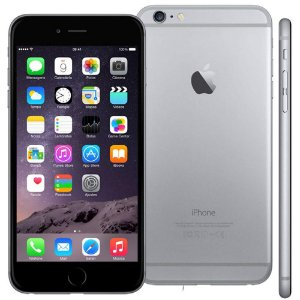 iPhone 6 64GB Cinza Espacial iOS 12 Wi-Fi Bluetooth Câmera 8MP - SEMINOVO