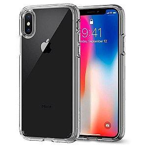 Capa iPhone X Spigen Ultra Hybrid Transparente Crystal Clear