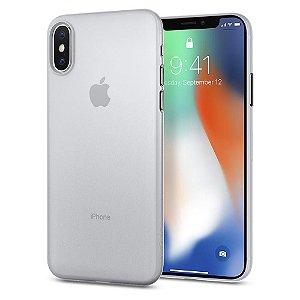 Capa iPhone X Spigen Air Skin Slim Soft Clear Transparente