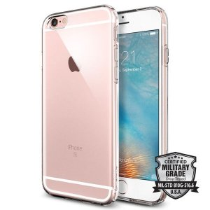 Case Spigen Liquid Armor iPhone 6s 6 Crystal Clear Transparente capa