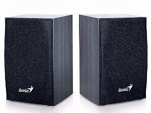 Caixa De Som 2.0 Ch Genius Sp-hf160 4w Rms Preta