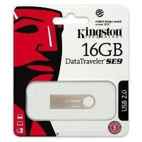 Pen Driver Kingston 16gb Modelo Se9 Metal