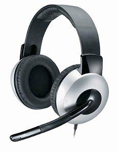 Headset Genius HS-05A Deluxe 31710011100 Prata