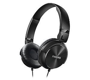 Fone De Ouvido Philips Shl3060 Headphone Dj Profissional Mp