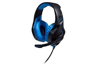 Headset com Microfone Multilaser Warrior 2.0 LED