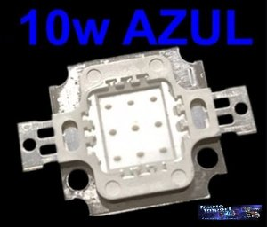 Super Power Led 10w Azul Royal Blue 440-445nm Aquário Etc