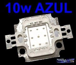 Led 10w Azul Royal 900-1000 Lumens Aquário, Decoração, Etc