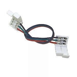 10 Emendas 3 vias Para Fita Led Endereçável Ws2811 Ws2812b e RGB 6803 Digital 133 e 328 Efeitos
