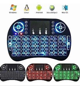 Mini Teclado Wireless Mouse Para Smart TV, Computador, Notebook, IPad, TV Box, Etc