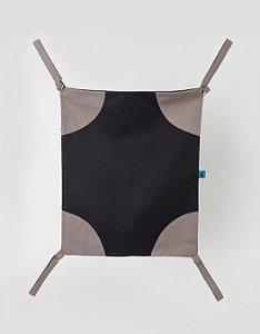 Rede de Cadeira - Preta e Cinza