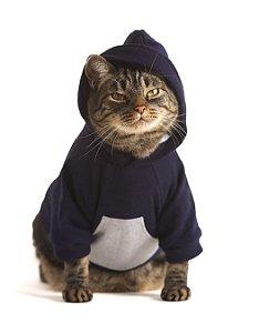 Moletom Canguru | Roupa Para Gatos