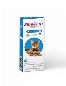 Antipulgas Bravecto Transdermal | Para Gatos | de 2,8 a 6,25 Kg