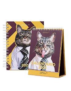 Combo Agenda + Calendário 2021
