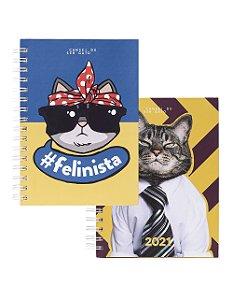 Caderno + Agenda | Para gateiros